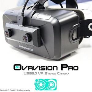 Ovrvision Pro for Oculus Rift DK2