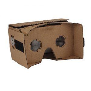 google cardboard vovotrade Calidad de la cartulina de DIY 3D Vr gafas de realidad virtual para Google